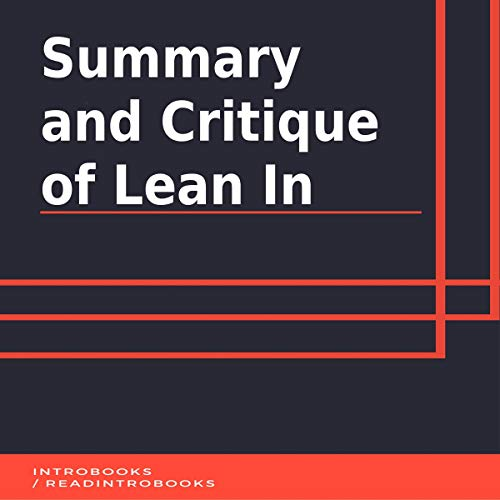 Summary and Critique of Lean In cover art