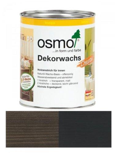 OSMO Dekorwachs Creativ 375ml Schwarz 3169
