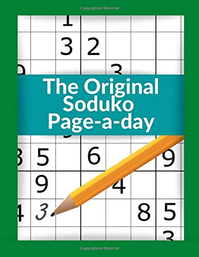 The Original Soduko Page-a-day: Basic Suduku Book, Brain workout tips and techniques to train your mind the must have 2020 suduko puzzle book and learn sudoko strategies