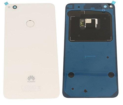 Scocca Copribatteria Back Cover Copri Batteria Posteriore Originale Huawei P8 LITE 2017 BIANCO BIANCA con Adesivo Biadesivo PRA-LX1 LX3 LA1