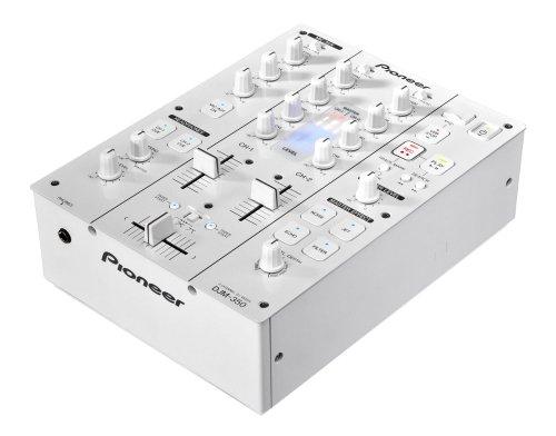 Pioneer DJM-350-W - Audio-Mixer (20 - 20000 Hz, 218 x 301 x 107 mm)