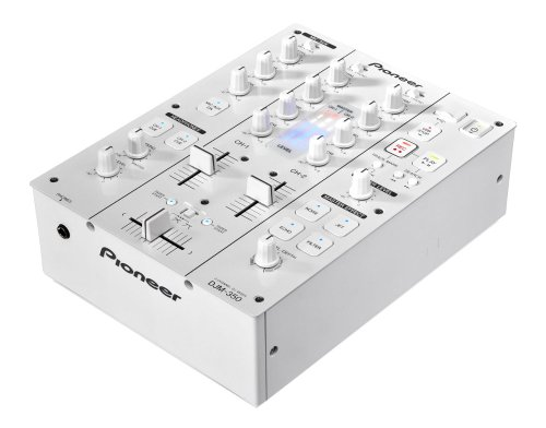 Pioneer DJM-350-W - Audio-Mixer (20 - 20000 Hz, 218 x 301 x 107 mm)