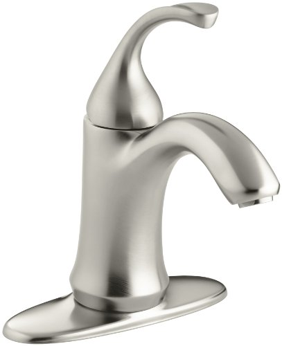KOHLER Forte K-10215-4-BN Single Handle Single hole or Centerset Bathroom Faucet