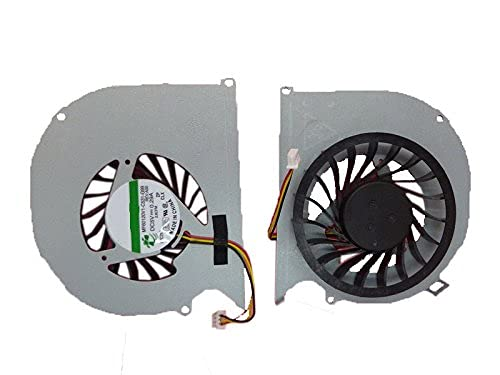 wangch Ventilador de refrigeración de CPU para computadora portátil Compatible con DELL Inspiron 15R 5520 5525 7520 Vostro 3560 MF60120V1-C531-G99.