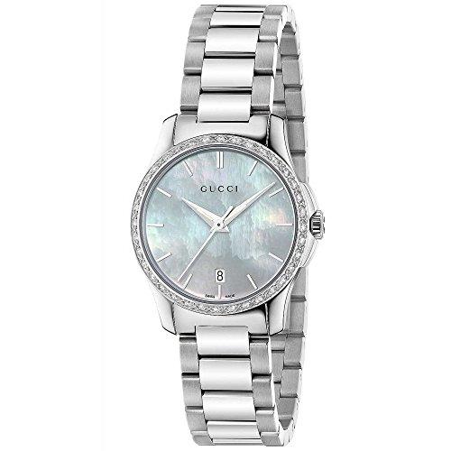 Reloj GUCCI de Mujer G-Timeless Pulsera de 36 Diamantes 0.22 CT YA126525