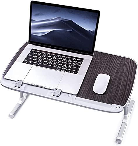 Mesa plegable para ordenador portátil, bandeja de cama, soporte de lectura de...