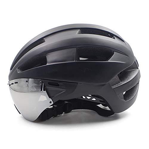Helm ZWRY Fietshelm Volwassen Stadshelm Road Mtb Mountainbike Aero Race Fietshelm met zonneklep