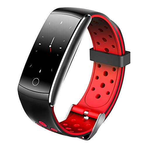 Liunian459 Smart Band, Heart Rate Monitor Fitness Tracker, swimming, basketball, badminton, pedometer Suitable for Android IOS Waterproof 0.96' Touch Color Screen(3 colors)