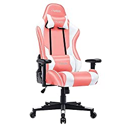 Musso Ergonomic (Pink) Gaming Chair Adjustable Esports Gamer Chair
