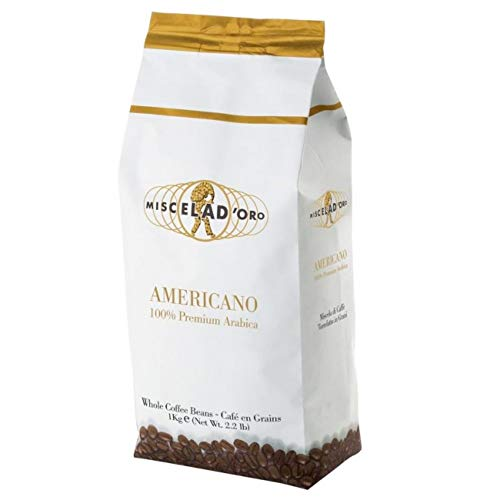 Miscela d'Oro - Americano Premium Coffee - Whole Beans 2.2 lb