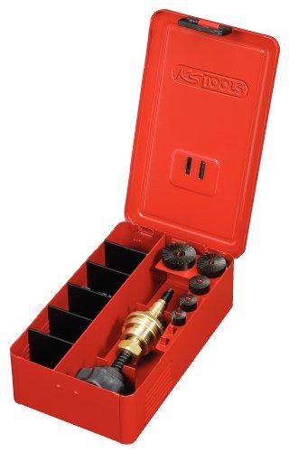 KS Tools 136.1100 Serie di Frese per Sedi di Rubinetti 3/8' - 1', 5 Pezzi