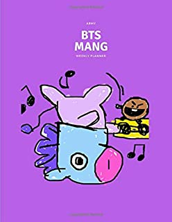 Kpop BTS BT21 MANG Mystery Big Weekly Planner For Boys And Girls: Week Per Page 2.5 Years Personal Journal For ARMYs