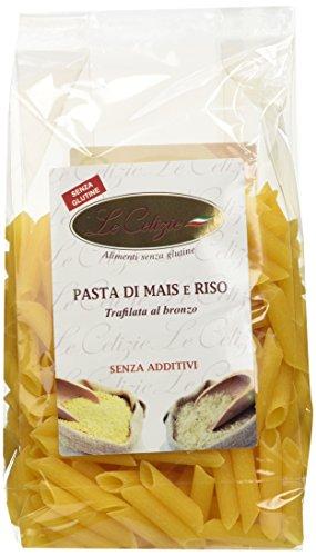 LE CELIZIE  - PENNE DI MAIS E RISO - 8 confezioni da 400 gr, Senza glutine