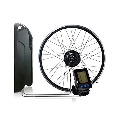 CARACHOME Nuevo Kit de Bicicleta electrica, Kit de conversión de Bicicleta eléctrica...