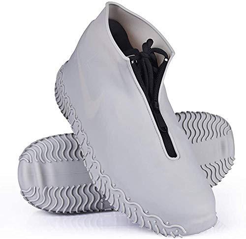 Wasserdichtes Schuhabdeckungen, wiederverwendbares Silikon Wasserdichte Regen Stiefel, Anti - Rutsch Überschuhe, ideal zum Radfahren, Wandern und Spazierengehen, saubere Schuhe, regen Überschuhe