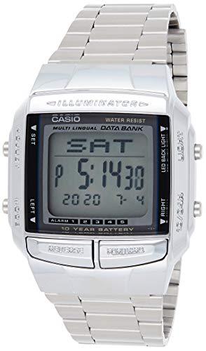 Relógio Casio Data Bank Vintage Digital Unissex DB-360-1ADF