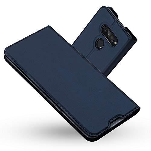 Radoo LG K50S Hülle, Premium PU Leder Handyhülle Brieftasche-Stil Magnetisch Klapphülle Etui Brieftasche Hülle Schutzhülle Tasche für LG K50S (Blau)