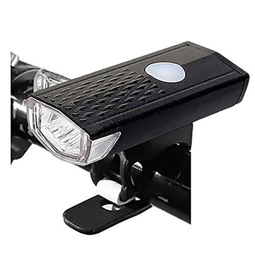 MTXD Luz de la Bici USB Recargable 300 lúmenes de luz Delantera de la Bicicleta del Faro Trasero Trasera Linterna de Ciclo Stevo Aprobado luz de Advertencia 10.12a (Color : Taillight 2)