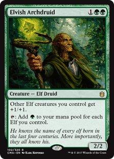 Wizards of the Coast Elvish Archdruid - Commander Anthology