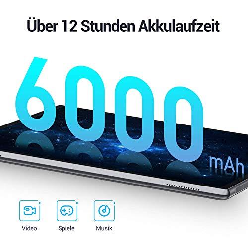 vankyo Tablet 10 Zoll S10 Tablet 2GB RAM, 32GB,10 Zoll Tablet mit 8MP Rückkamera, Quad-Core-Prozessor, 1080p Full HD IPS Display, Android 9.0, GMS zertifiziertes, Zwei Lautsprecher, Schwarz