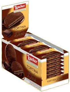 ローカー loacker トルティーナ トリプルダーク 1P(21g)×24袋入り イタリアのチョコレート菓子 イタリアのお菓子 輸入菓子 輸入チョコレート