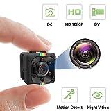 Mini Hidden Camera Spy Cam Wireless with Video Camera Full HD...
