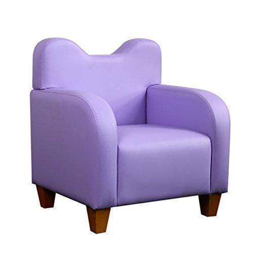 ZXF- Kinder kleines Sofa, einfache Moderne Sitz, Kinderzimmer lesen Hocker, Nicht abnehmbaren Sitz bequemes Licht Mini Sofa L53cm * W43cm * H58cm