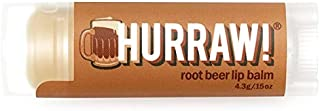 Hurraw! Balm, Lip Balm, Root Beer.15 oz (4.3 g)