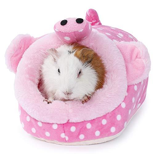JanYoo - Accesorios para ratas de conejillo de indias, juguetes para casa, jaula para escondite de chinchilla