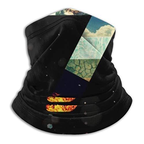 Dantes Inferno 7 Gesichtsmaske staubdicht Kopfbedeckung Bandanas Sturmhaube für Radfahren, Laufen, Wandern
