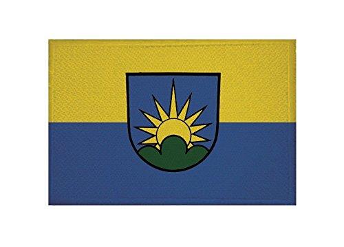 U24 Aufnäher Dobel Fahne Flagge Aufbügler Patch 9 x 6 cm