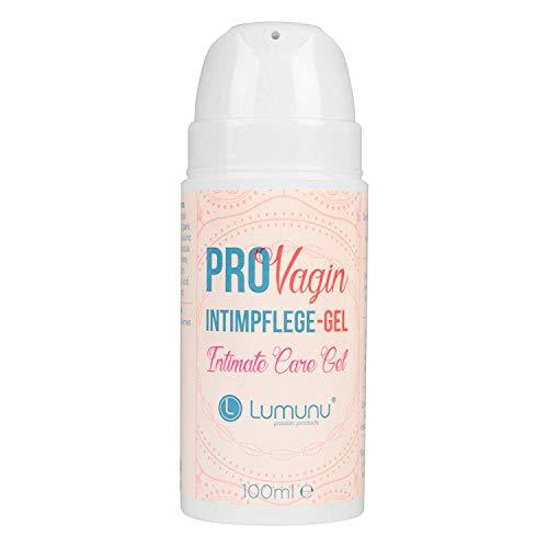 Deluxe ProVagin Intimpflege-Gel für Frauen (100ml), mit Milchsäure zur Vorbeugung von Trockenheit im äußeren Intimbereich, von Venize