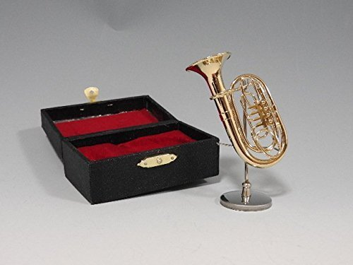 SUNRISE SOUND HOUSE サンライズサウンドハウス ミニチュア楽器 チューバ(Tuba) 1/12ゴールド