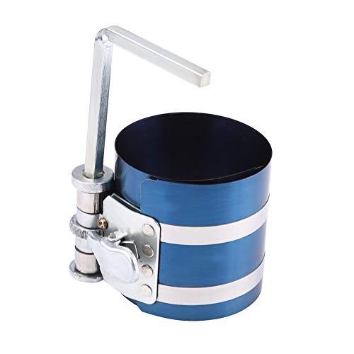 Compresor de anillo de pistón de coche, compresor de anillo de pistón de motor Banda de instalador Extractor de alicates de trinquete Herramienta de motor de expansión(3 inch)