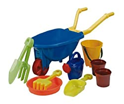 Size H49, W24, D18cm. For ages 3 years and over. EAN: 3674385. Encourage your children to take care of the garden and grow their own plants with the Chad Valley wh They will love joining in to help with the gardening and this set features all the acc...