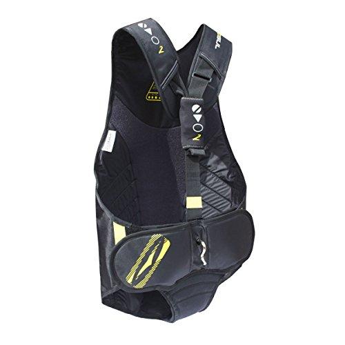 Gul Evolution 2 Trapeze harnas in zwart geel - Unisex - Guls Nieuwste Evo2 Trapeze harnas is de meest comfortabele tot nu toe