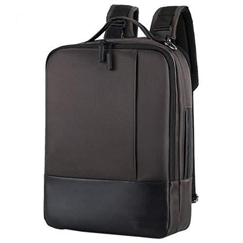 ARR Fashion Mannen School Office Laptop Bag Zacht Met Opladen Port Rits Waterdichte Anti-diefstal Casual Rugzak