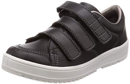 [ムーンスター] メンズ/レディース リハビリ 介護靴 片足販売 Vステップ07 (左足のみ) ブラック 30 cm 3E