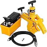 VEVOR Professional Combi Brise-perles Kit tracteur camion pneu hydraulique brise-billes Changer avec 79'Tuyau d'air hydraulique 10000 PSI Pompe à pied Portable