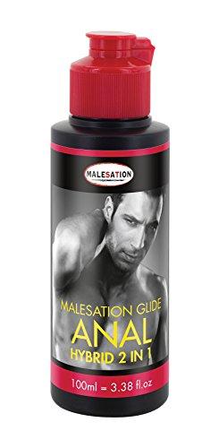 Malesation Anal Hybrid Gleitmittel wasserbasierend 100 ml, 1er Pack