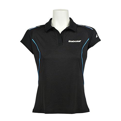 Babolat Polo Match Core Torso-Ropa para Mujer, Todo el año, Unisex, Color Negro - Negro, tamaño XS