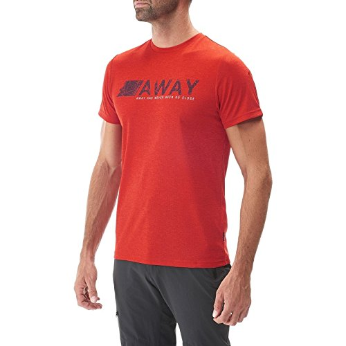 Lafuma Shift Tee Shirt Homme, Vibrant Red, FR : L (Taille Fabricant : L)