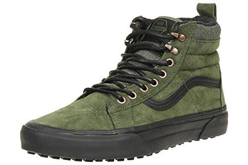 Vans Jungen Sk8-Hi MTE Hohe Sneaker, Grün (Green VA33TXOGY), 35 EU