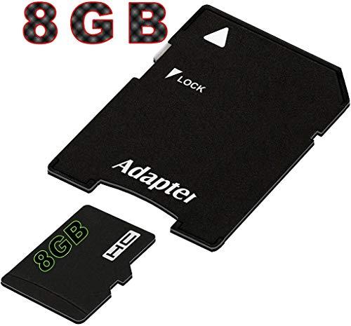 tomaxx Micro SDHC Speicherkarte für Motorola G7, Motorola G7 Plus, Motorola G7 Play, Motorola G7 Power, Huawei P Smart 2019, Honor View 20 8GB UHS-1 Class 10 Karte inkl. SD-Adapter