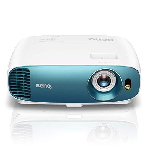 BenQ TK800 DLP Projektor (4K UHD, 3840 x 2160 Pixel, HDR, 92% Rec. 709, 3000 ANSI Lumen, Football Mode, 10.000:1 Kontrast, HDMI)
