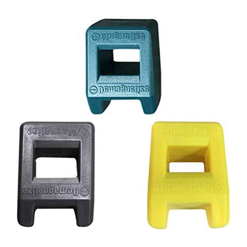 Demiawaking Magnetizzatore Smagnetizzatore 2 in 1 Magnetizzatore per Cacciaviti Gadget Strumento Pick-Up (2pz)