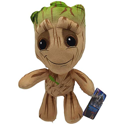 Marvel - Peluche Hulk, Thor, Deadpool, Baby Groot, Captain America - 33cm/55cm/75cm Calidad Super Soft (28-33cm, Baby Groot 2)