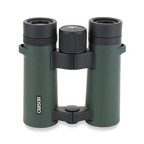 Carson Binóculos compactos de alta definição à prova d'água RD Series 10 x 34 mm