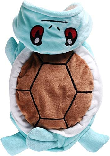 Squirtle dog costume