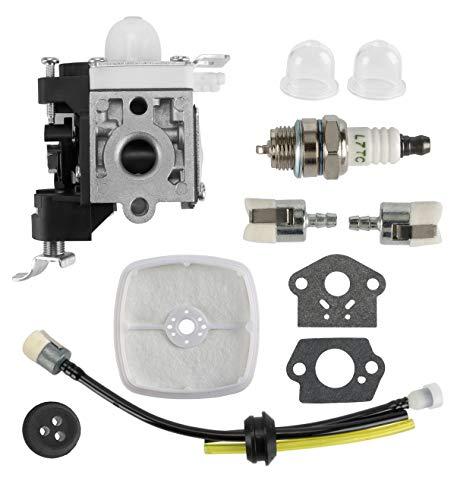 MDAIRC Carburetor with Fuel Line Kit Echo Trimmer, for Zama RB-K85 Echo PB-265L PB-251 PB-265LN Blower A021001350 A021001351 A021001352 K90 K106